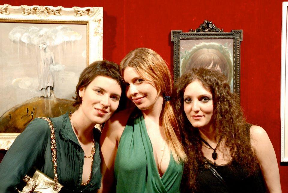 Ixie, Alexandra Mazzanti and Alessia Iannetti