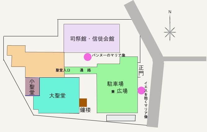 教会平面図