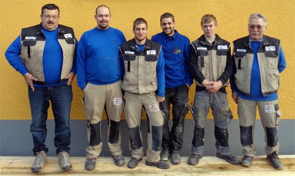 Team von Pfiffner Holzbau in Quarten