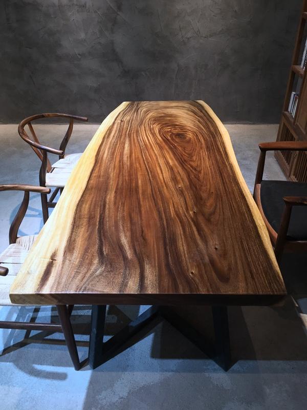 178cm Esstisch Nussbaum