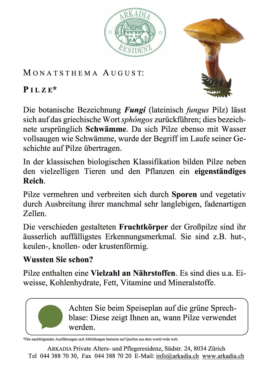 Jahresthema arkadia alters und pflegeresidenz for Innendekorateur lehrstellen