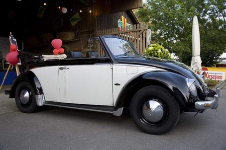 hochzeitsauto vw k fer cabrio oldtimer partyservice bodensee. Black Bedroom Furniture Sets. Home Design Ideas