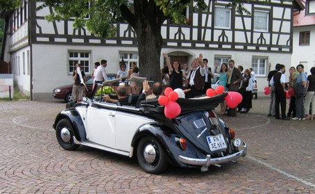 hochzeitsauto vw k fer cabrio oldtimer partyservice bodensee. Black Bedroom Furniture Sets. Home Design Ideas