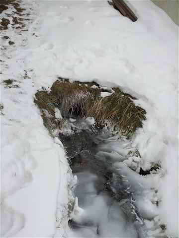 a bachal im winter. . .
