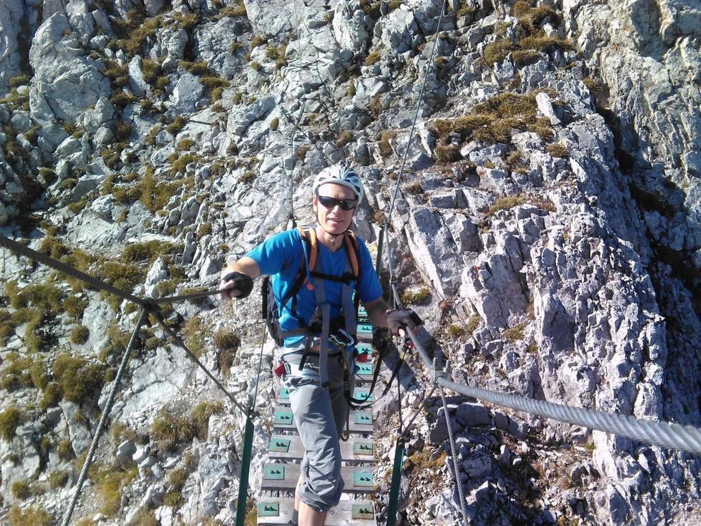 aufstieg - innsbrucker klettersteig