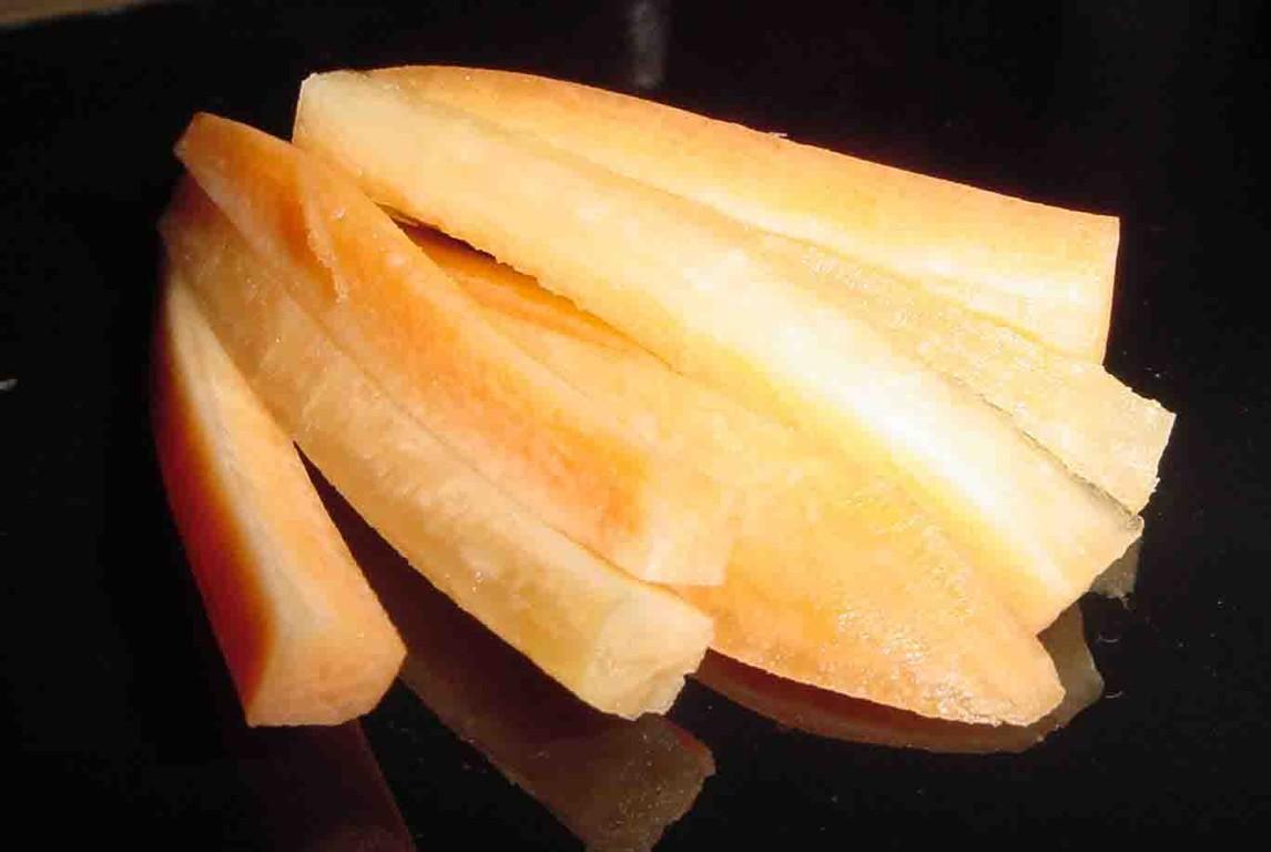Ballaststoffreiche Karotten
