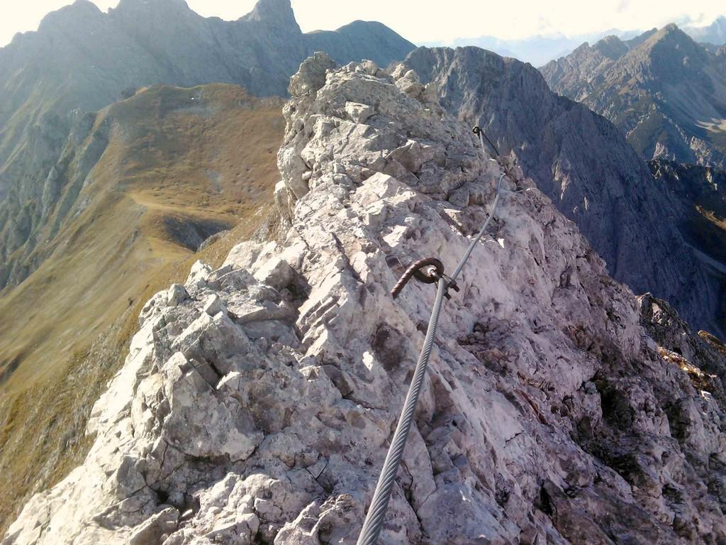 Innsbrucker Klettersteig Mitte Oktober III