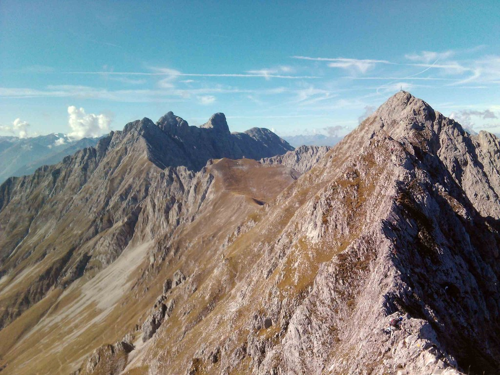 Innsbrucker Klettersteig Mitte Oktober II