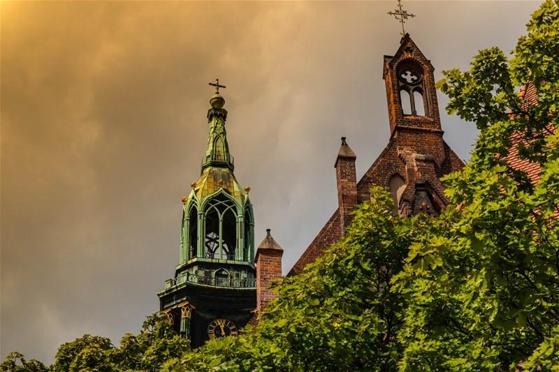 kirchenturmbild - berlin