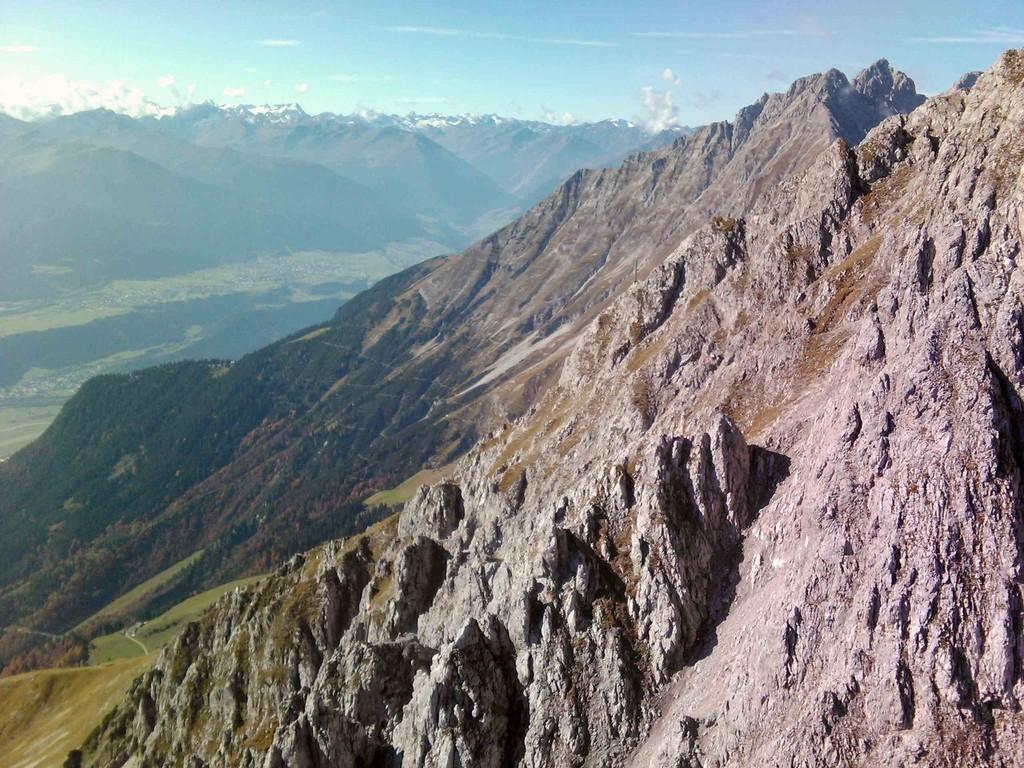 Innsbrucker Klettersteig Mitte Oktober I