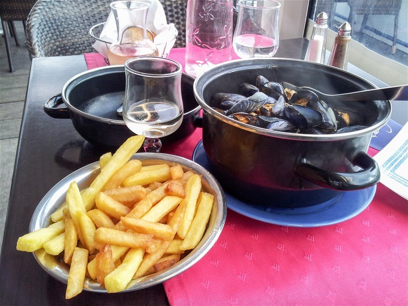moules frits