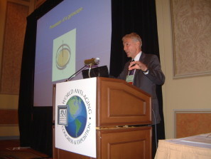 "Dr.Kessler presenting ""Counteracting Aging With Basic Physics"", Venetian Las Vegas, December 11, 2008"