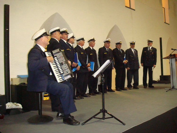 Der Marinechor aus Graz begeisterte das Publikum