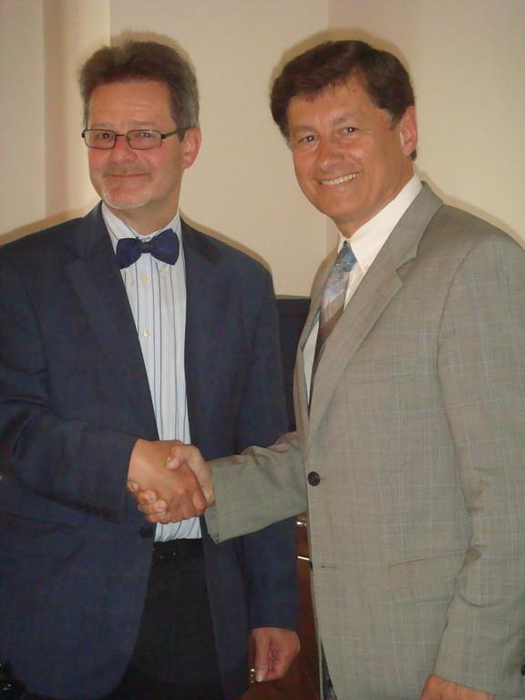 LPO Dr. Kurzmann gratuliert dem neuen BPO Krusche