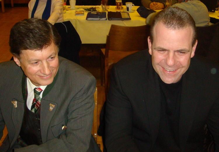 LPO NR Dr. Kurzmann und Generalsekretär NR Vilimski