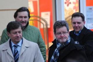 LPO Kurzmann mit FP Funktionären und mir
