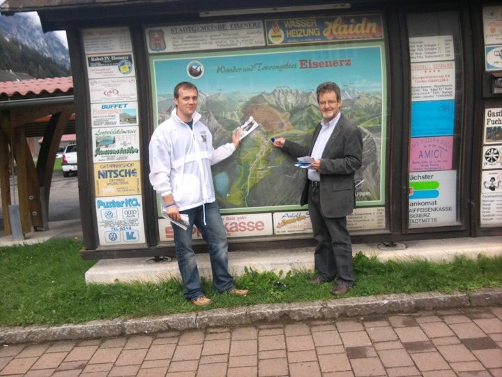 Besuch in Eisenerz