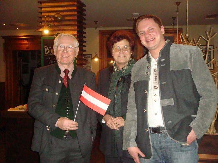 Familie Raubitzek mit Stefan Della Pietra