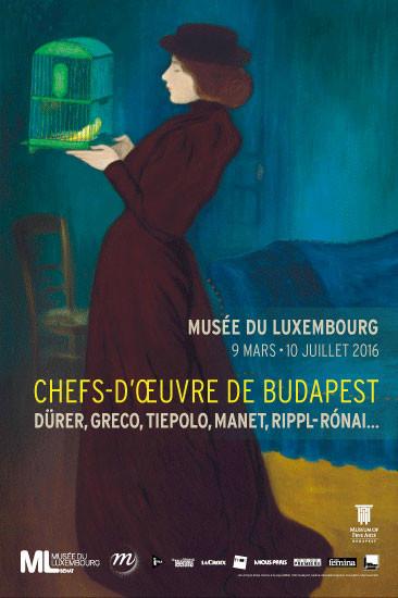 musée, luxembourg, le chefs d'oeuvre de budapest, exposition, paris