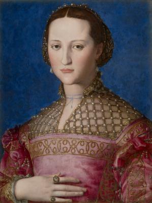 Portrait d'Éléonore de Tolède - Agnolo Bronzino (1522)
