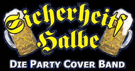 Sicherheitshalbe Logo die Partyband