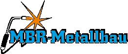 MBR Metallbau, Schlosser, Stahlbauer, Julio Romero, Schweisen, Logo