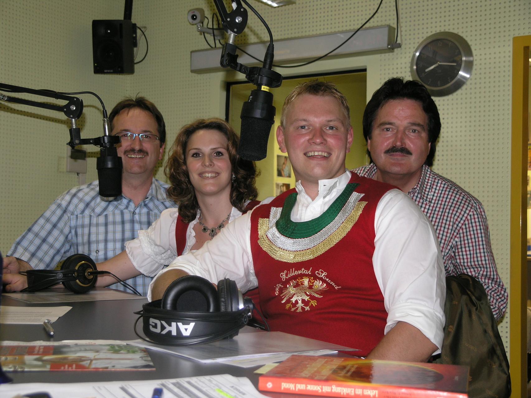 Liveinterview bei Radio U1 in Tirol/Schwaz