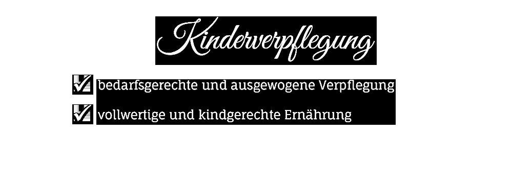 Verpflegungsservice Kinder - Mahlzeit Catering Gotha