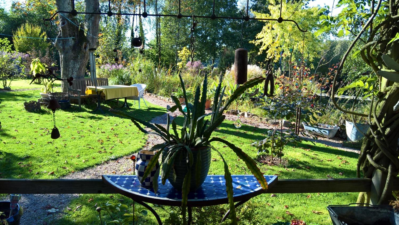 Ein Blick von der Terrasse