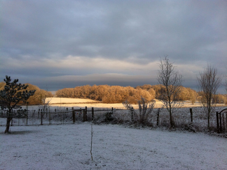 Zur Abwechslung mal ein wenig Schnee