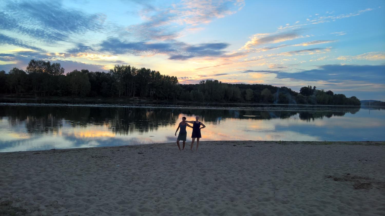 Die beiden Annettes an der Saône