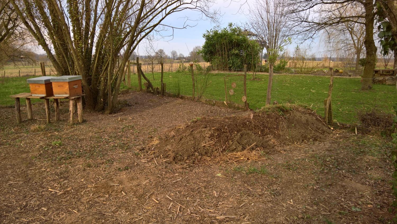 Dann entsteht an einer Stelle die neue Kompostsammelstelle