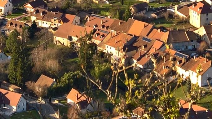Die kleinen Häuser von Poligny