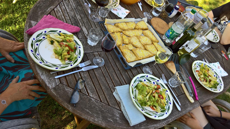 Einladung zum Abendessen bei Moni & Familie
