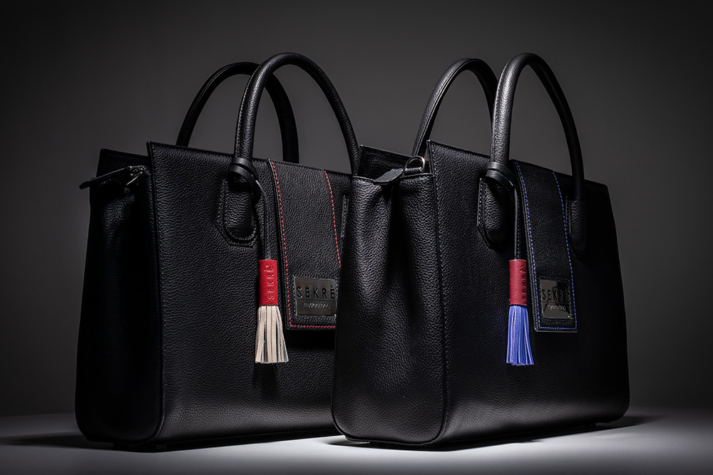 detachable tassels with individual colour codes and the coloured seams are different with each edition