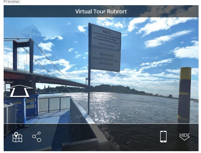 Flusskreuzfahrtschiffsanleger Mühlenweide - Duisburg Ruhrort