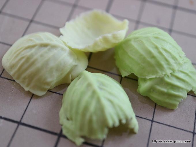 葉物の型セット(キャベツ、レタス、しそ)