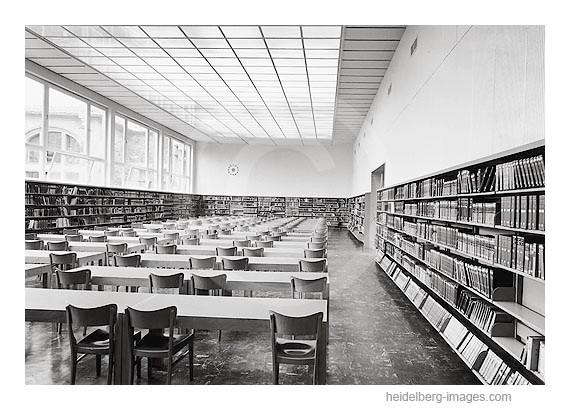 Archiv-Nr. hr83 / Neuer Lesesaal der Universitätsbibliothek