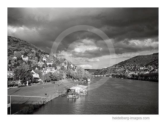Archiv-Nr. h96136 | Blick auf das Neuenheimer Ufer und Neckar