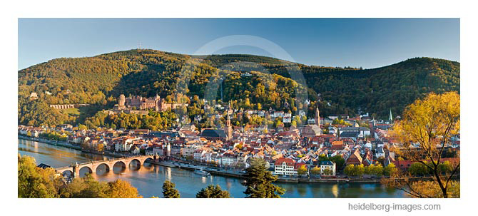 Archiv-Nr. hc2007204 / Heidelberg-Panorama im Herbst