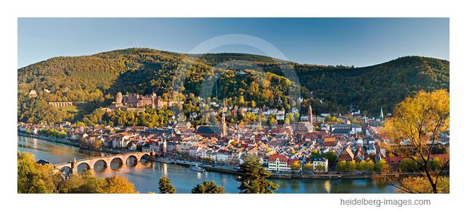 Archiv-Nr. hc2007204 | Heidelberg-Panorama im Herbst