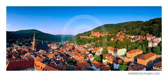 Archiv-Nr. hc2006151 / Blick von der Jesuitenkirche auf das Schloss u. die Altstadt