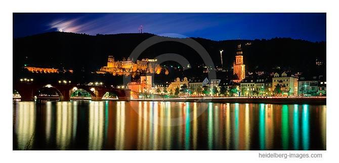 Archiv-Nr. hc2006164 / Heidelberg im Mondlicht