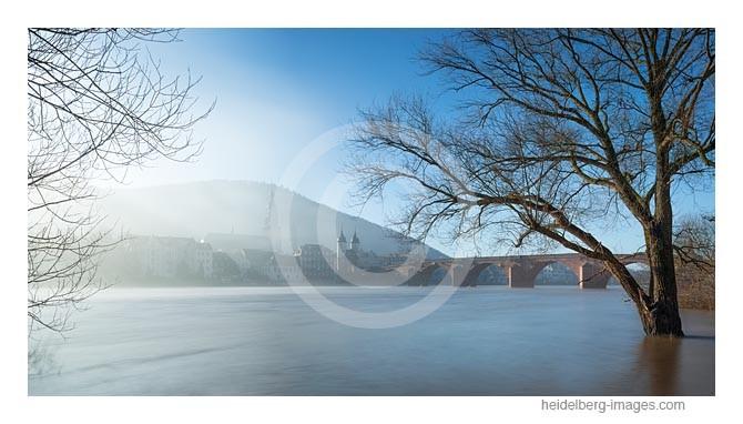 Archiv-Nr. hc2015103 | Heidelberg, Morgennebel über der Altstadt und dem Neckar