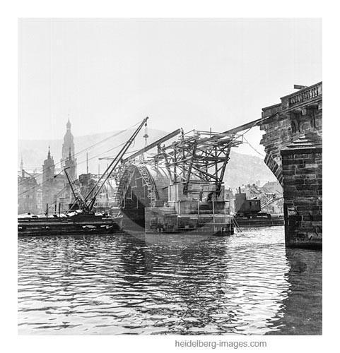 Archiv-Nr. h4515-5 / Wiederaufbau der Alten Brücke