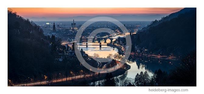 Archiv-Nr. hc2015179 / Neckartal im winterlichen Abendlicht