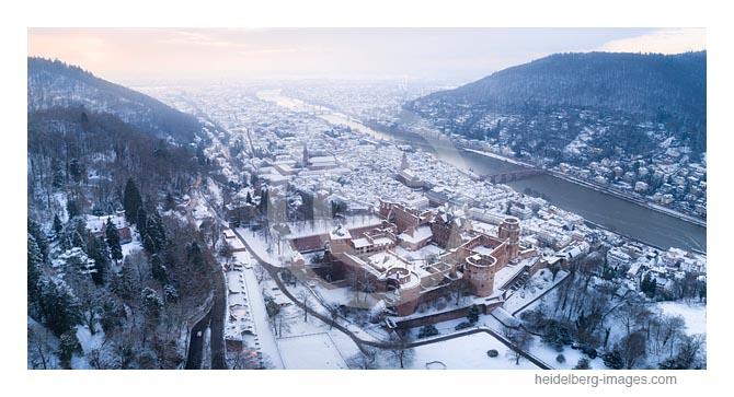 Archiv-Nr. hc2021132 |  Winter auf dem Schlossberg - Luftbild