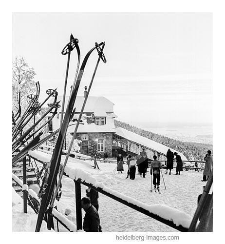 Archiv-Nr. h15/8 / Idyll für Skifahrer am Königstuhl