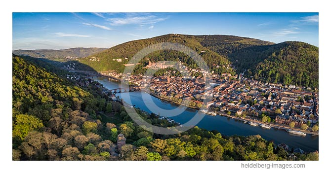 Archiv-Nr. hc2020132 | Heidelberger Altstadt Übersicht