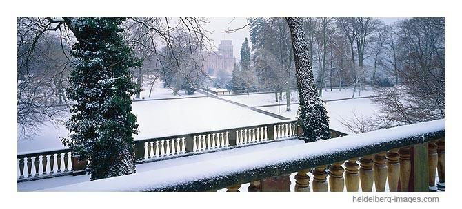 Archiv-Nr. hc96105 / schneebedeckter Schlossgarten